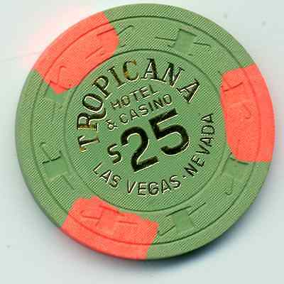 Tropicana Las Vegas   $25 Casino Chip