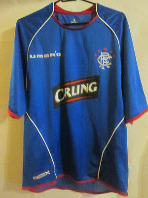 Rangers 2005-2006 Home Football Shirt Size Medium /22384
