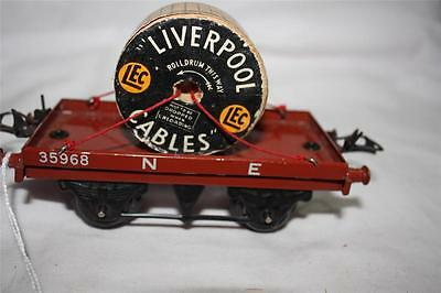 O GAUGE liverpool cables NE wagon  [k2363]