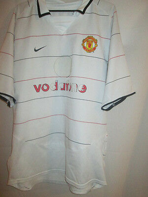 Manchester United 2003-2005 Third 3rd Football Shirt Size Large /24462