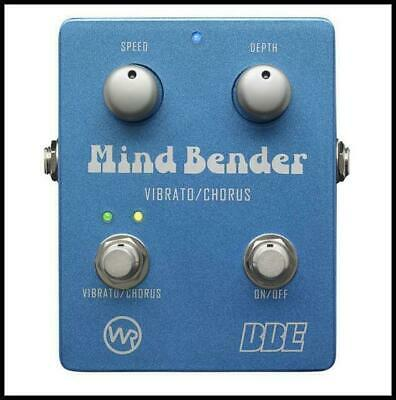 BBE Mind Bender Analog Vibrato / Chorus Guitar Effects Pedal 2 pedals in One !