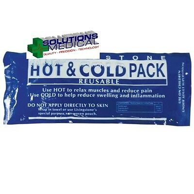 HOT AND COLD PACK REUSABLE GEL 10 x 25cm (x1)