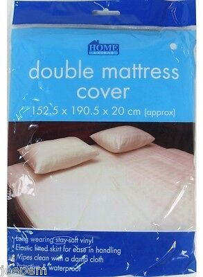Fitted Waterproof Double Mattress Cover Protector New