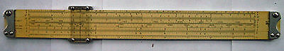 Pickett All Metal Model 903-T Trig-Conversion 12 inch Slide Rule with Case