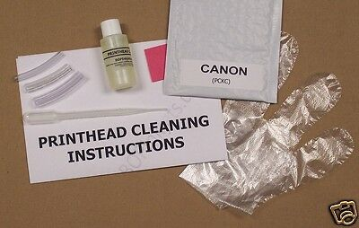 Unblock Print Head Nozzles for Canon. Printer Cleaning Kit Cleaner Flush (PCKC)