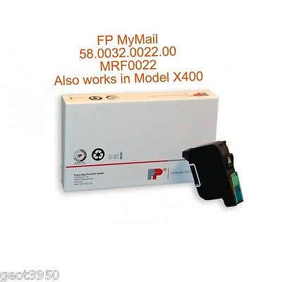 2 each Francotyp Postalia MYMAIL FP Mailing ink cart Compatible RED Flourescent