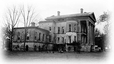 Belle Grove Plantation, almost mythical southern mansion, tall columns porches