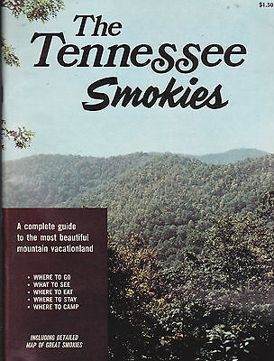 The Tennessee Smokies 1972 Complete Guide w Map