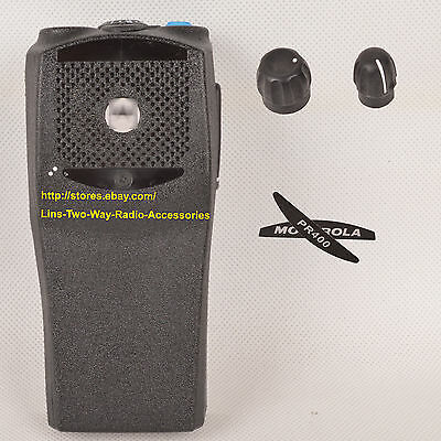 10x Black Replacement Repair Case Housing for Motorola PR400 Portable radio