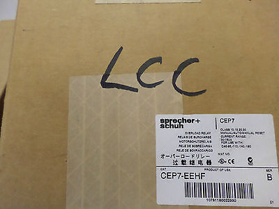 SPRECHER + SCHUH HIGH AMP - Solid State Overload Relay - CEP7-EEHF 30-150amp