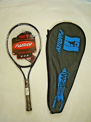 New!!! Adult Graphite Alloy Tennis Racket Racquet & Full Cover W'house Clearance