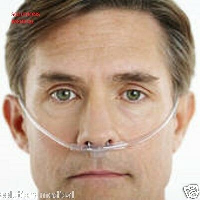 NASAL OXYGEN CANNULA WITH NASAL PRONGS x 5 (ADULT)