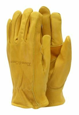 Town & Country Elite Superior Leather Gardening Gloves - Mens - Large Tgl419L