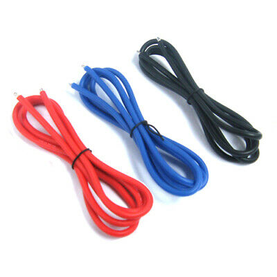 Yeah Racing 12AWG Silver Silicone Wire Set (BK/BU/RD) 1:10 RC Car #WPT-0030