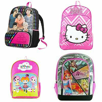 "1D One Direction | Hello Kitty | Lalaloopsy | Winx Club 16"" School Backpack"