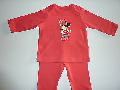 DISNEY Really Cute Little MINNIE MOUSE Girls PJ's Up to 3 MonthsNEW