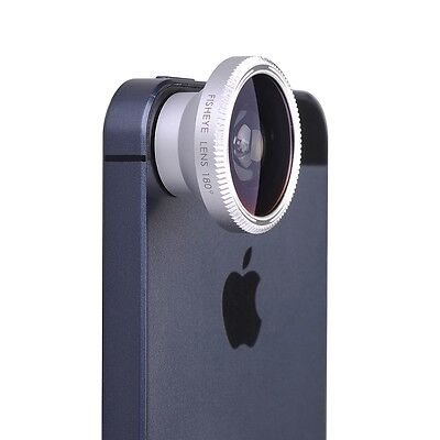 4 in 1 Fish Eye len +Wide Angle + Macro + Telephoto Lens Camera for iPhone 6 5S