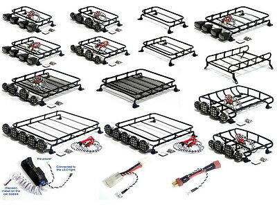 Crawler Metal Luggage Tray / Light Bar for Tamiya CC01/AXIAL SCX10 RC4WD D90