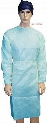 Surgical Waterproof Isolation Gown  Large (Cotton Cuff)