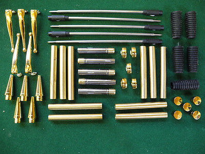 Woodturning  COMFORT Ball Point Kit in Gold