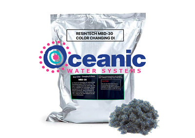 Deionizing DI Resin | 5 lbs | Color Indicating Mixed Bed DI ResinTech MBD-30