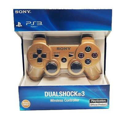 PlayStation 3 Dualshock 3 Wireless Controller (Metallic Gold) by Sony *NEW*