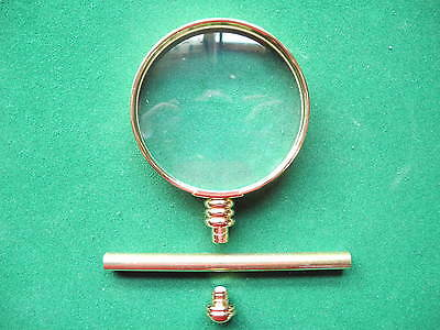 Woodturning MAGNIFIER GLASS Kit in GOLD