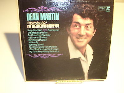 Dean Martin (Remember Me) I'm the One Who Loves You Reprise RS-6170 VG / VG