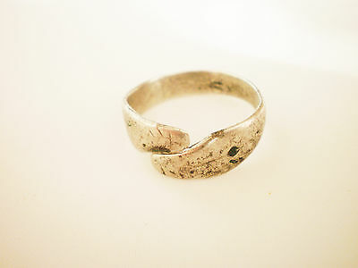 ANCIENT RARE Zoomorphic Medieval Silver FINGER RING  15 -16 century AD
