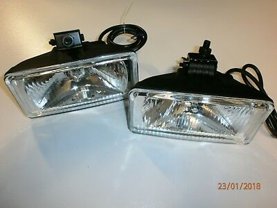 Range Rover Classic LSE Wipac Style Aux Lights or Fog Lights Pair NEW PRC8238
