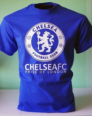 Chelsea FC Football Soccer T Shirt Jersey - The Pride of London