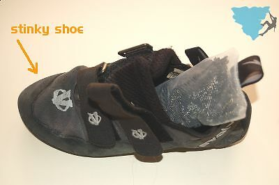 Stinky SHOO - Large - Eliminate odor from climbing shoes