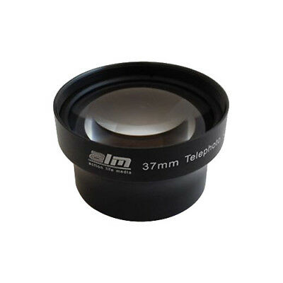 ALM 37mm Telephoto Lens with 2x Magnification for mCAM & mCAMLITE Black