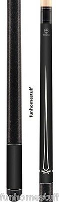 New MCDERMOTT Lucky L16 BLACK Two-piece Billiard Pool Cue Stick & FREE Soft Case