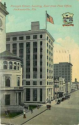 FL-JACKSONVILLE-FORSYTH STREET LOOKING EAST FROM POST OFFICE-MAILED 1916-Q46199