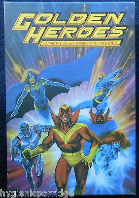 1984 Golden Heroes Super Villains GH2 Boxed Set Citadel Pre Slotta C40 Hero MIB