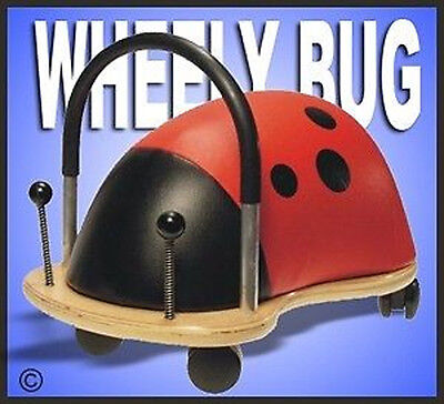 *NEW* ORIGINAL SMALL WHEELY LADY BUG Toddler Ride-On Toy