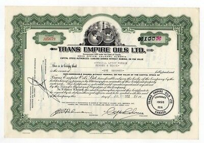 Trans Empire Oils LTD