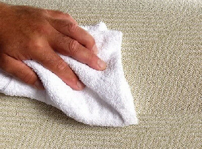 100 New 100% Cotton Terry Cloth Cleaning Towels Shop Rags 12X12 1#