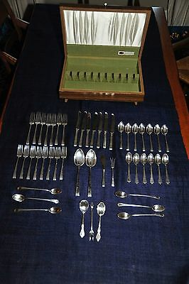 Solid Sterling Silverware (39 pc. set) PLUS Sterling Silver Plated (9 pc.)