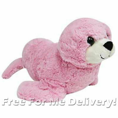 DINKI DI CUDDLES PINK SEAL STUFFED ANIMAL PLUSH TOY 30cm **FREE DELIVERY**