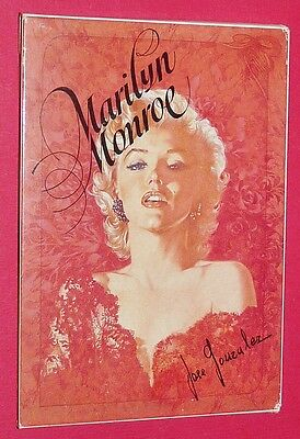 Cpa Cinema Cartes Postales Marilyn Monroe Pack 12 Postcards  Jose Gonzalez 1984