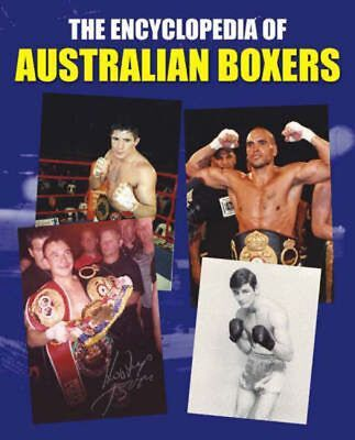 NEW The Encyclopedia of Australian Boxers by Hardcover Book Free Shipping
