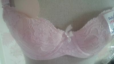 Brand new pink bra 34A 34 A 75A padded underwire