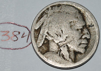United States 1913 S Type 1 Buffalo Nickel USA Indian 5 Cents Nice Coin Lot #384