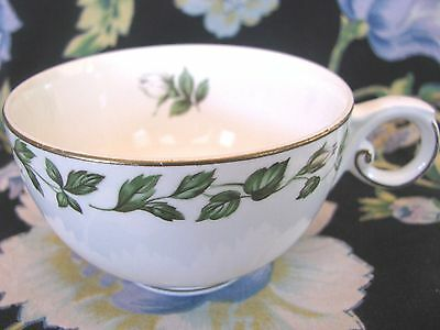 Hall Superior Hall Cameo Rose White Cup   !!EXCELLENT CONDITION!!