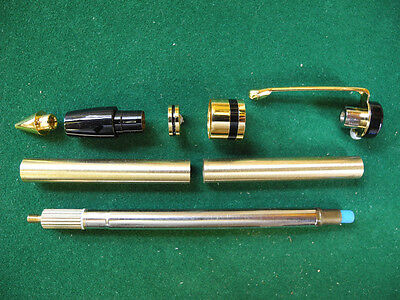 Woodturning CLASSIC Pencil Kit in Gold