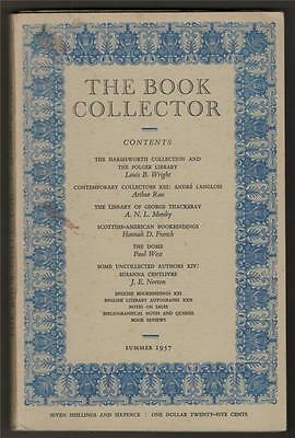 The Book Collector. 1957. Harmsworth Collection. George Thackeray.  c5.399