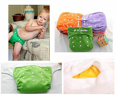 Washable Comfort Colth Baby Nappies Diapers without insert One Size Adjustable