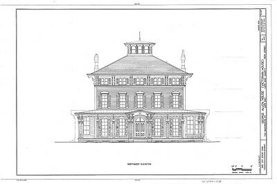 Victorian Italianate house, large porches, romantic, architectural floor plans